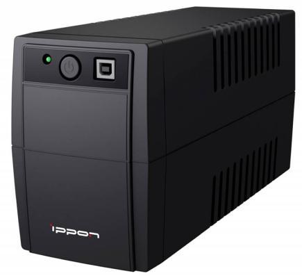 ippon back office 600 va ИБП Ippon Back Basic 1050 Euro 600Вт 1050ВА черный