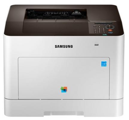 Принтер Samsung SL-C3010ND цветной A4 30стр.мин 600x600dpi Ethernet USB