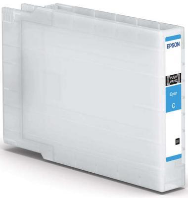 Картридж Epson C13T907240 для Epson WorkForce WF-6090DW WF-6590DWF голубой powder for epson workforce m 400 mfp for epson al m400 dtn for epson workforce al 400 mfp brand new universal powder