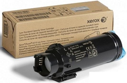 Картридж Xerox 106R03481 для Phaser 6510/WC 6515 голубой 1000стр картридж xerox 106r03481 для phaser 6510 wc 6515 голубой 1000стр