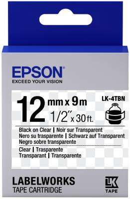 Лента Epson LK4TBN C53S654012 лента epson lk 4tbw c53s654015