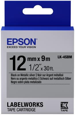 Лента Epson LK-4SBM C53S654019 лента epson lk 4sbm c53s654019