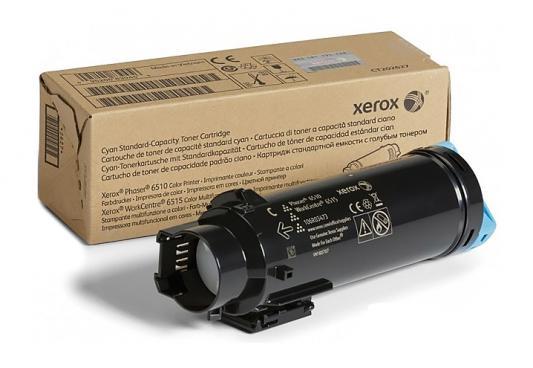 Картридж Xerox 106R03485 для Phaser 6510/WC 6515 голубой 2400стр картридж xerox 106r03694 для phaser 6510 wc 6515 пурпурный 4300стр