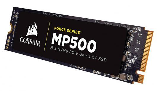 SSD Твердотельный накопитель M.2 120GB Corsair Force MP500 Read 3000Mb/s Write 2400Mb/s PCIe CSSD-F120GBMP500
