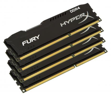 все цены на Оперативная память 64Gb (4x16Gb) PC4-17000 2133MHz DDR4 DIMM CL14 Kingston HX421C14FBK4/64