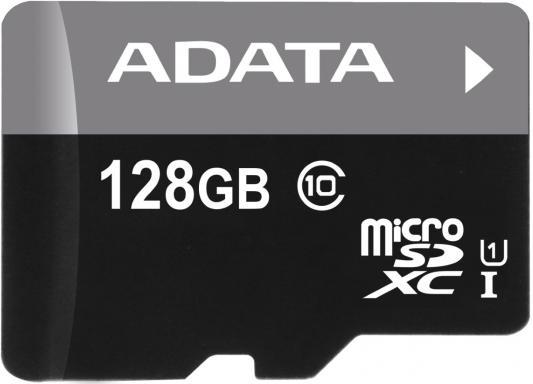 Карта памяти Micro SDXC 128Gb Class 10 A-Data AUSDX128GUICL10-R
