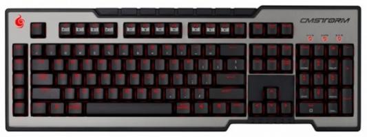 Клавиатура проводная Cooler Master Trigger USB черный SGK-6000-GKCC1-RU