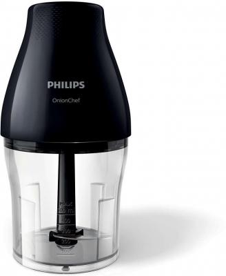 Измельчитель Philips HR2505/90 черный комбайн philips hr2505 90 viva collection