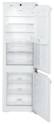 Холодильник Liebherr ICBN 3324-20 001 белый встраиваемый двухкамерный холодильник liebherr icbn 3386