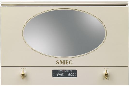 цены на СВЧ Smeg MP822PO 850 Вт бежевый в интернет-магазинах