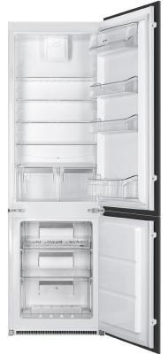 Холодильник Smeg C7280NEP белый smeg fab30raz1