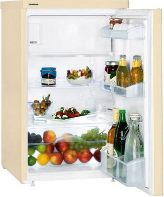 Холодильник Liebherr T 1404-20 бежевый двухкамерный холодильник liebherr cuwb 3311