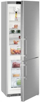 Холодильник Liebherr CNef 5715-20 серебристый двухкамерный холодильник liebherr cnef 3915