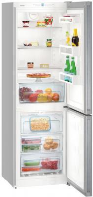 Холодильник Liebherr CNPel 4313-20 001 серебристый холодильник liebherr cuwb 3311 20 2кам 210 84л 181х55х63см серый