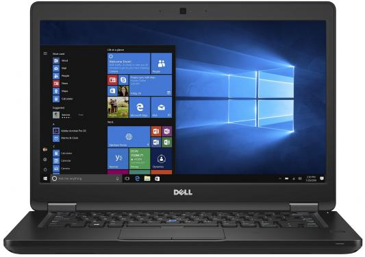 Ноутбук DELL Latitude 5480 14 1920x1080 Intel Core i7-7820H 5480-9194 адаптер dell intel ethernet i350 1gb 4p 540 bbhf