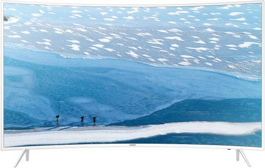 Телевизор Samsung UE55KU6510UXRU белый телевизор samsung ue28j4100ak