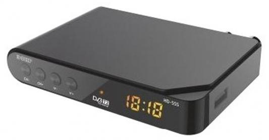 Тюнер цифровой DVB-T2 Сигнал Эфир HD-555 тюнер сигнал electronics эфир hd 500
