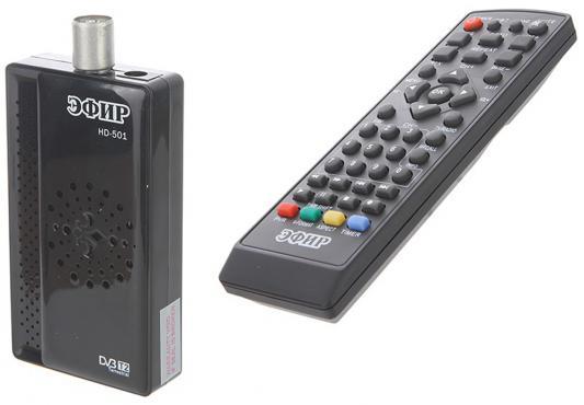Тюнер цифровой DVB-T2 Сигнал Эфир HD-501RU БП