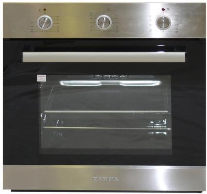 Комплект встраиваемой техники Дарина Т1 BGM341 12 X + 1U5 BDE111 707 X3 черно-серебристый
