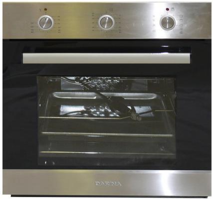 Комплект встраиваемой техники Дарина Т1 BGM341 12 X + 1U5 BDE 111 705 X3 черно-серебристый