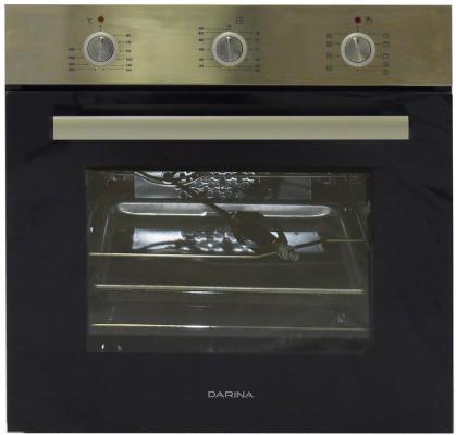 Комплект встраиваемой техники Дарина Т1 BGM341 12 X + 1U5 BDE 111 705 X черно-серебристый