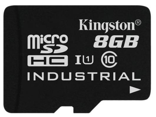 Карта памяти Micro SDHC 8GB Class 10 Kingston SDCIT/8GB + адаптер SD