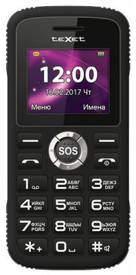 """Мобильный телефон Texet TM-B219 черный 1.77"""""""