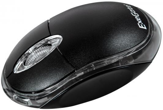 Мышь проводная Exegate SH-9024 чёрный USB EX258064RUS