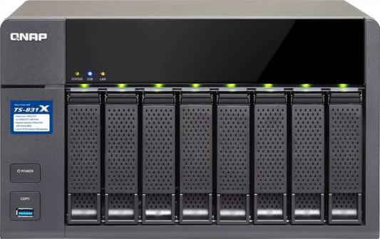 Сетевое хранилище QNAP TS-831X-8G