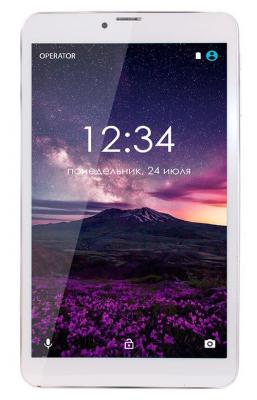 Планшет GINZZU GT-8010 8 16Gb серебристый Wi-Fi 3G Bluetooth LTE Android GT-8010-1 Silver планшет huawei mediapad m3 lite 8 32gb серый wi fi 3g bluetooth lte android 53019449 cpn l09