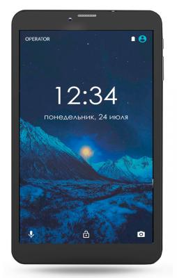 """Планшет GINZZU GT-8005 8"""" 8Gb черный Wi-Fi 3G Bluetooth Android GT-8005 Black"""