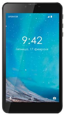 """Планшет GINZZU GT-7110 7"""" 8Gb черный Wi-Fi 3G Bluetooth Android GT-7110 Black"""