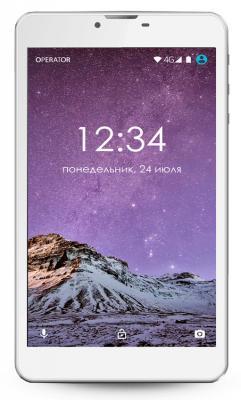 """Планшет GINZZU GT-7105 7"""" 8Gb серебристый Wi-Fi 3G Bluetooth Android GT-7105 Silver"""