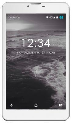 """Планшет GINZZU GT-7110 7"""" 8Gb серебристый Wi-Fi 3G Bluetooth Android GT-7110 Silver"""