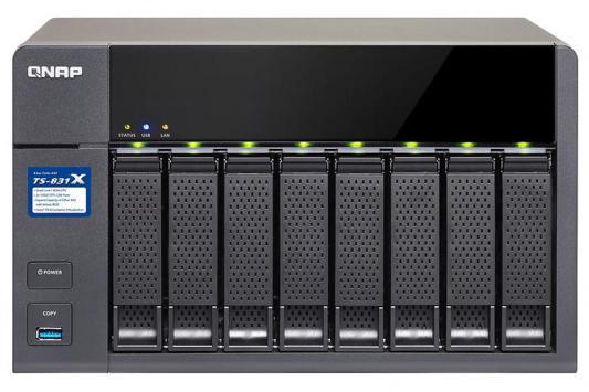 Сетевое хранилище QNAP TS-831X-16G