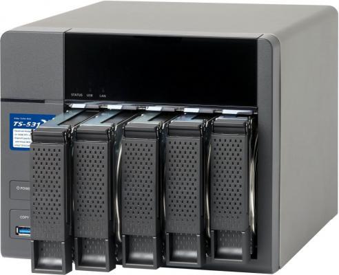 Сетевое хранилище QNAP TS-531X-2G