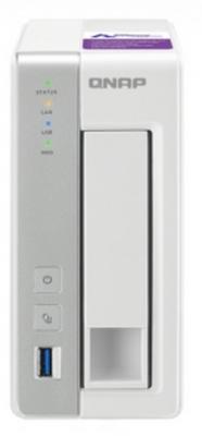 Сетевое хранилище QNAP TS-131P сетевое хранилище qnap ts 451 2g 4 отсека для жестких дисков