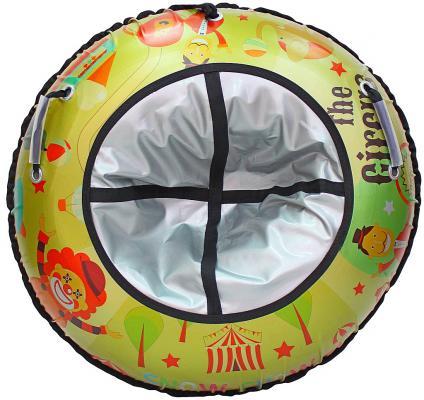 Тюбинг R-Toys Цирк до 120 кг разноцветный полипропилен ПВХ