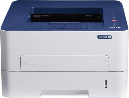 Принтер Xerox Phaser 3260V/DNI ч/б A4 28ppm 1200x1200dpi Ethernet Wi-Fi USB мфу xerox workcentre 3215ni ч б а4 27ppm автоподатчиком lan wi fi