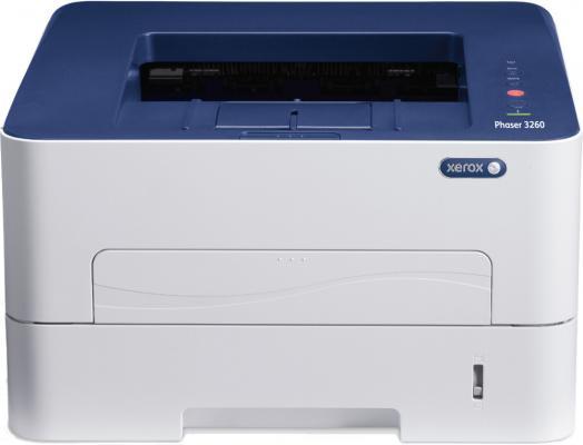 Принтер Xerox Phaser 3260DNI ч/б A4 28ppm 1200x1200dpi Ethernet Wi-Fi USB