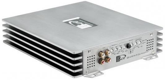 Усилитель звука Kicx QS 4.95M 4-канальный 4x95 Вт цена и фото