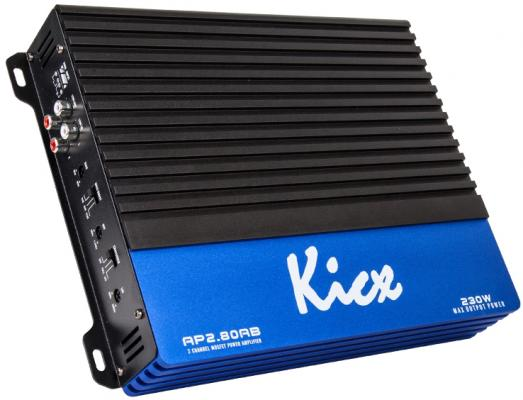 Усилитель звука Kicx AP 2.80AB 2-канальный 2x80 Вт усилитель звука kicx ap 2 80ab 2 канальный 2x80 вт