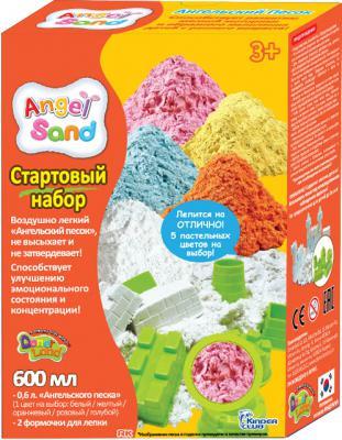 Набор для творчества ANGEL SAND Розовый 0,6 + формочки MA07014x