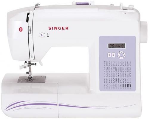 Швейная машина Singer 6160 белый [супермаркет] джингдонг сингер singer швейная машина бытовая электрическая многофункциональная 5511