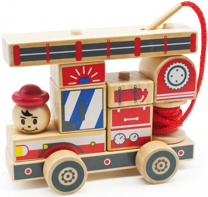 Конструктор Мир деревянных игрушек Автомобиль-конструктор 2 Д060