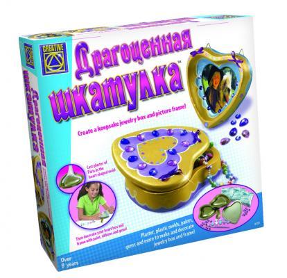 Набор для творчества CREATIVE Драгоценная шкатулка 5251 от 8 лет набор для творчества creative creative набор для творчества дизайнерские свечи стаканчики