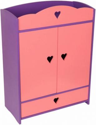 Набор мебели Краснокамская игрушка Шкафчик с выдвижным ящиком КМ-01 краснокамская игрушка развивающая пирамидка кольцевая