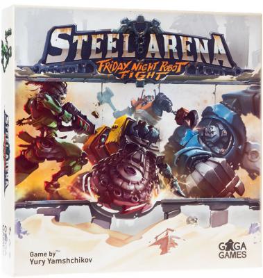 Настольная игра GAGA GAMES «Стальная арена» GG020 настольная игра gaga чак смельчак gg062