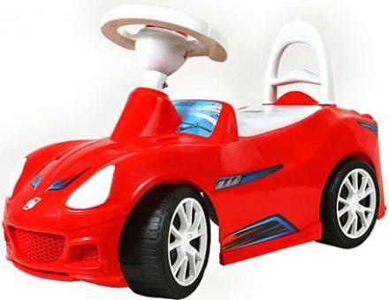 Каталка R-Toys Спорткар ОР160 красный от 10 месяцев пластик