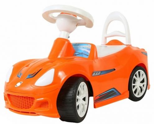 """Каталка-машинка R-Toys """"Спорткар с клаксоном"""" красный от 8 месяцев пластик"""